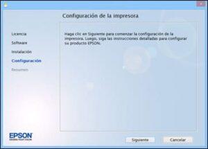 Configuracion Driver Impresa Epson