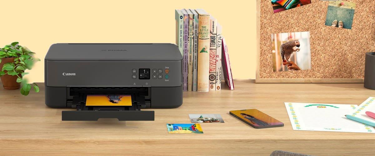 Cómo conectar una impresora Canon