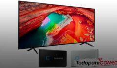 Cómo conectar disco duro externo a TV Samsung