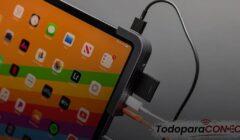 Cómo conectar USB a iPad